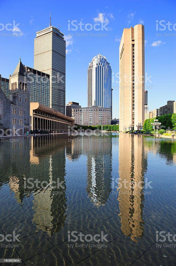 Boston urban architecture royalty-free stock photo