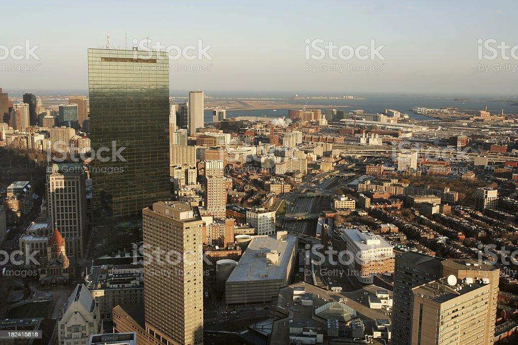 Boston view royalty-free stock photo