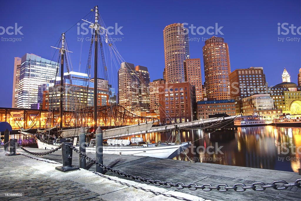 Boston Waterfront royalty-free stock photo