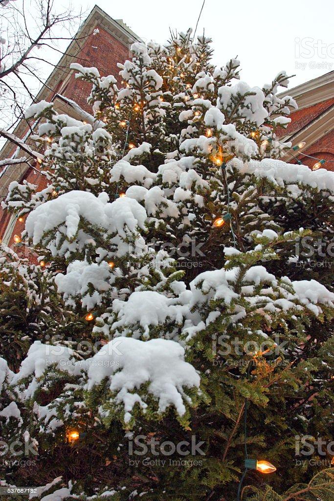 Boston Winter stock photo