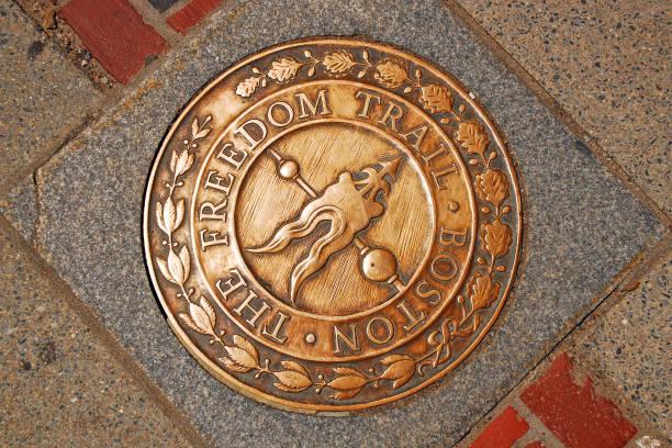 Boston's Freedom Trail stock photo