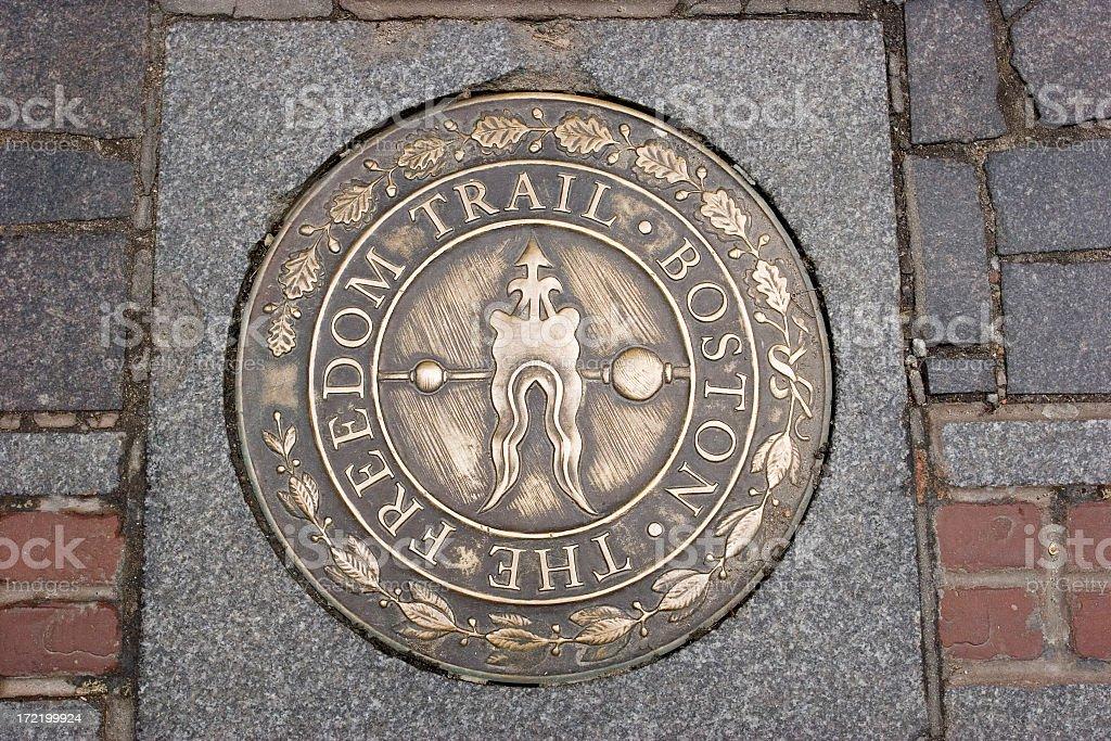Boston's Freedom Trail royalty-free stock photo