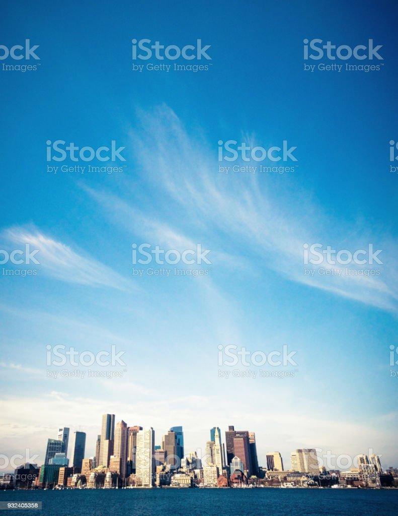 Boston's Skyline stock photo