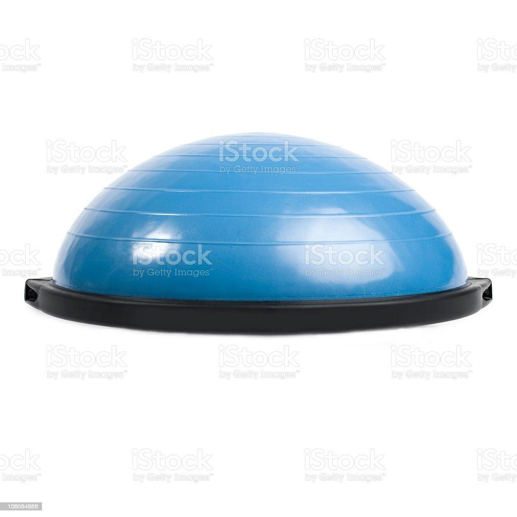 Bosu Balance Trainer Ball stock photo