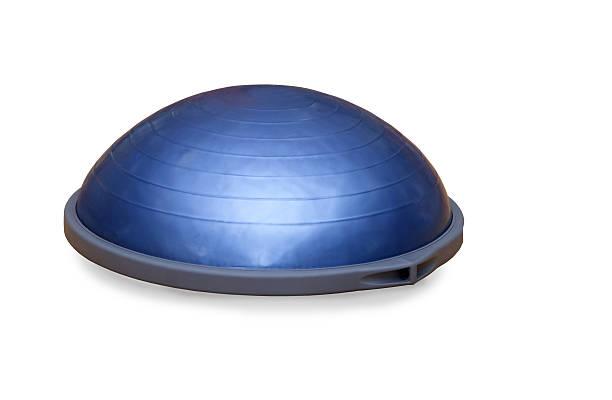 Bosu ball (modern gym ball) stock photo