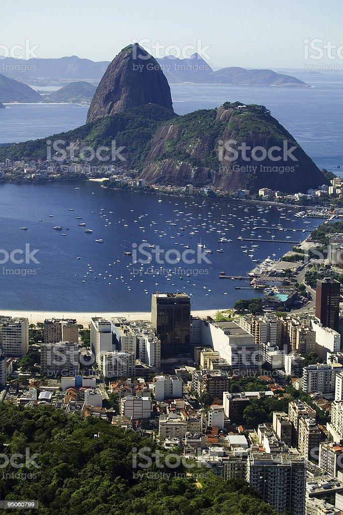 Botafogo Bay royalty-free stock photo