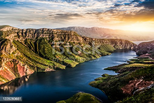 istock Botan River and valley in Siirt Province/TURKEY 1225283651