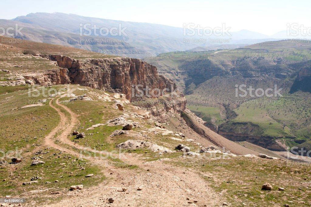 Botan Valley, Siirt,Southeastern Anatolia.Turkey stock photo