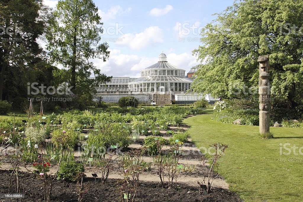 Botanic Garden, Copenhagen stock photo