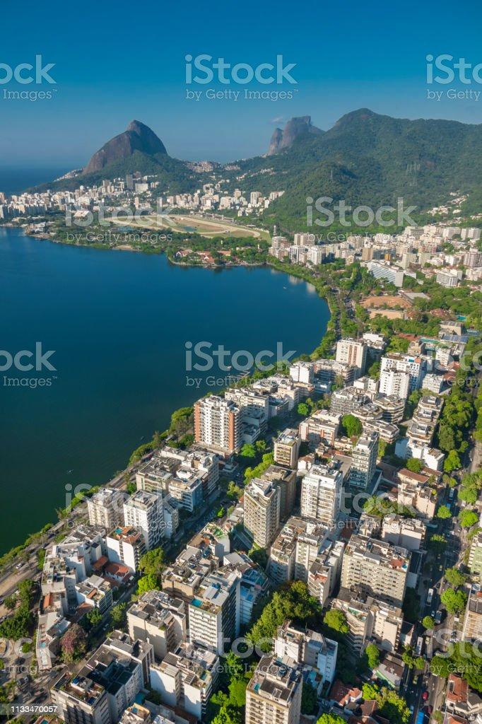 Botanische tuin district in Rio de Janeiro foto