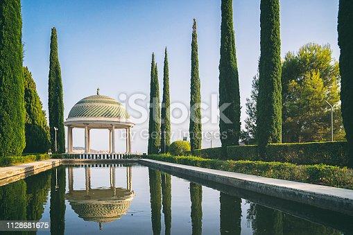 Botanic garden of Malaga