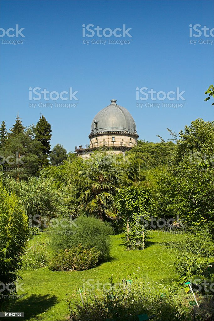 botanic garden stock photo