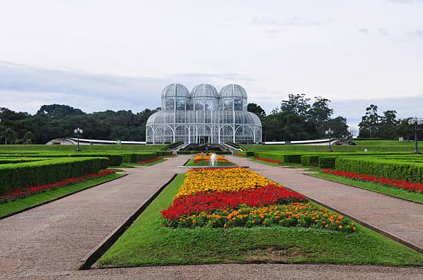 botanic gardens in curitiba - curitiba stock photos and pictures