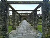 Botanic Gardens of Belfast - Stone Alley