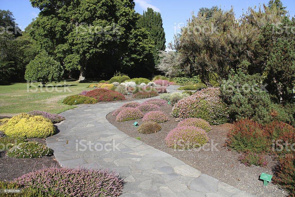 Botanic Gardens royalty-free stock photo