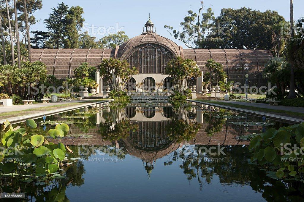 Botanical Building, Balboa Park Royalty Free Stock Photo