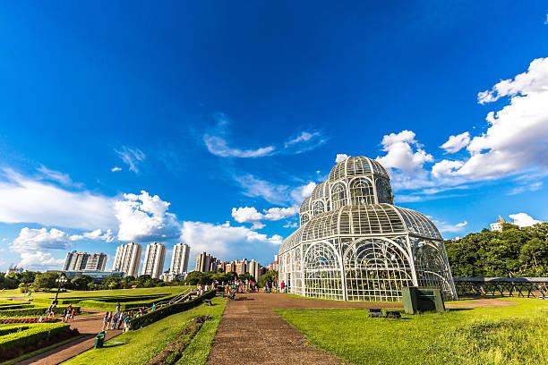 botanical garden, curitiba. parana state, brazil - curitiba stock photos and pictures