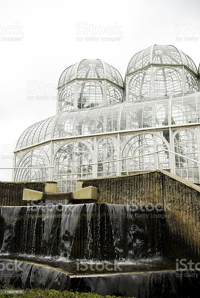 Botanical Garden Greenhouse royalty-free stock photo