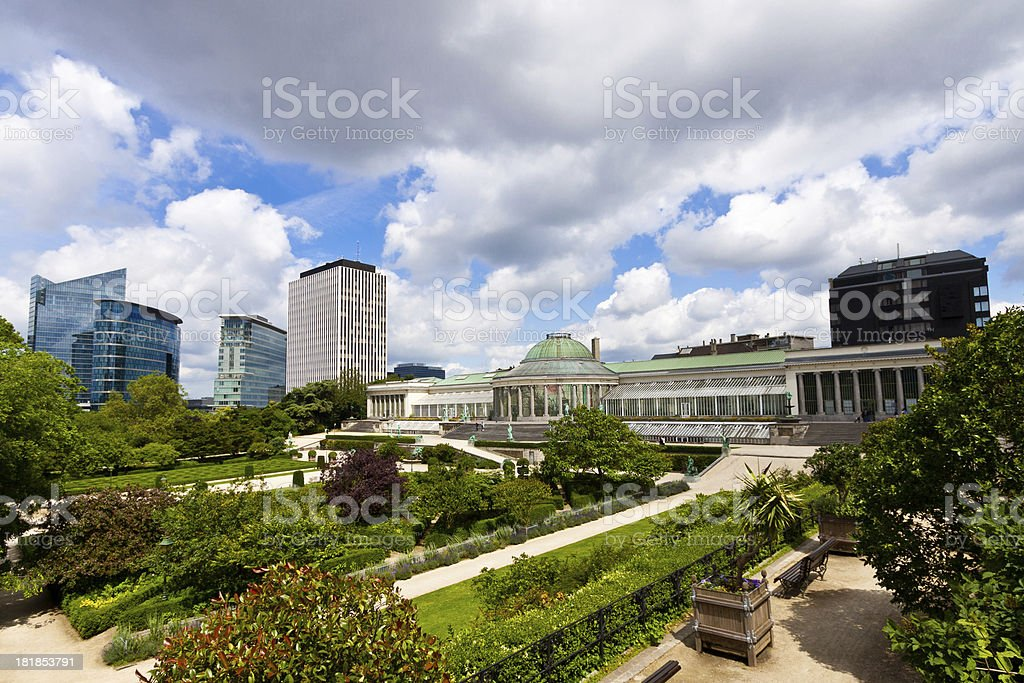 Botanical Garden of Brussels. royalty-free stock photo