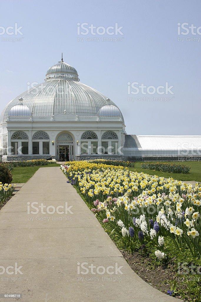 Botanical Gardens royalty-free stock photo