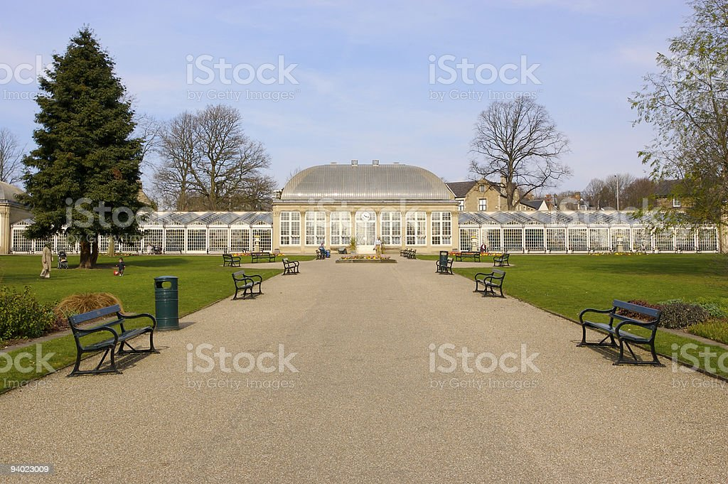 Botanical Gardens, Sheffield royalty-free stock photo
