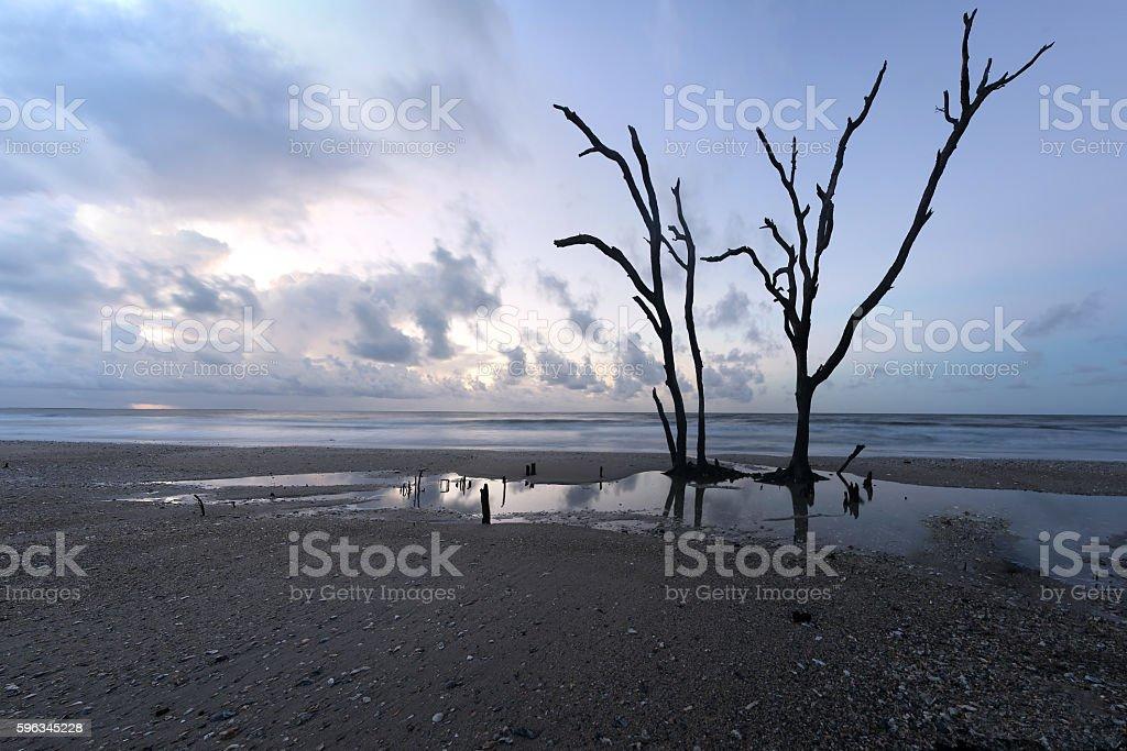 Botany Bay at sunrise royalty-free stock photo