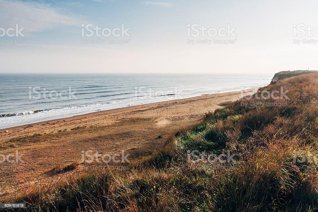 Botany Bay beach near Broadstairs, Thanet, Kent, England stock photo