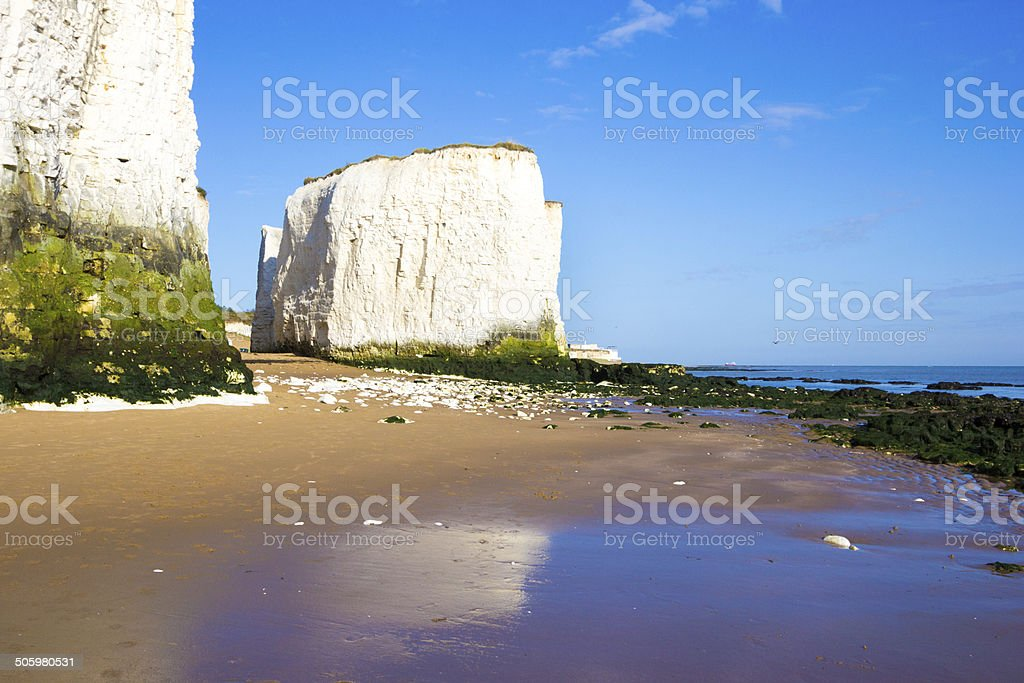 Botany Bay in Kent, England stock photo