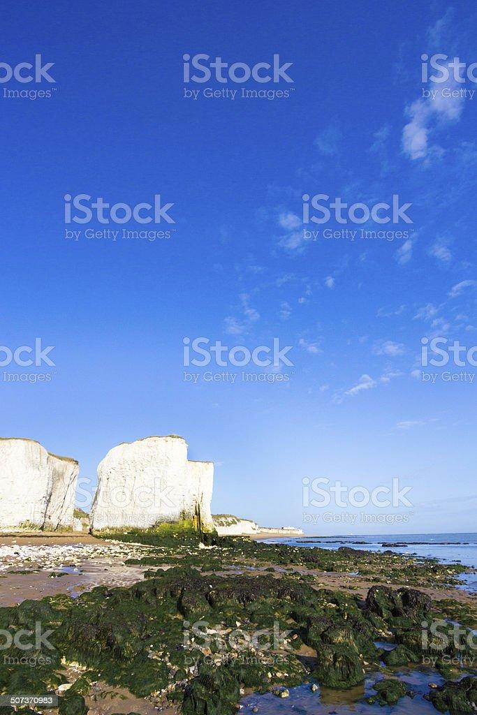 Botany Bay in Kent, England royalty-free stock photo