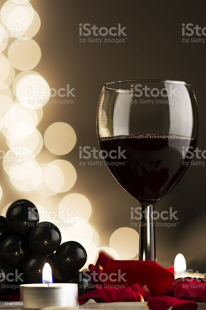 Botella de Vino royalty-free stock photo