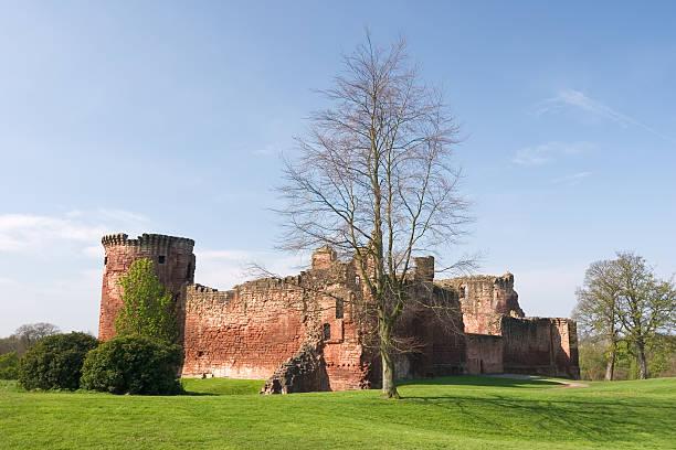 Bothwell Castle 2 stock photo