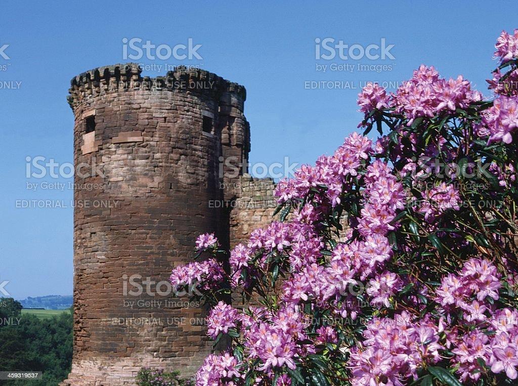 Bothwell Castle Lanarkshire Scotland stock photo