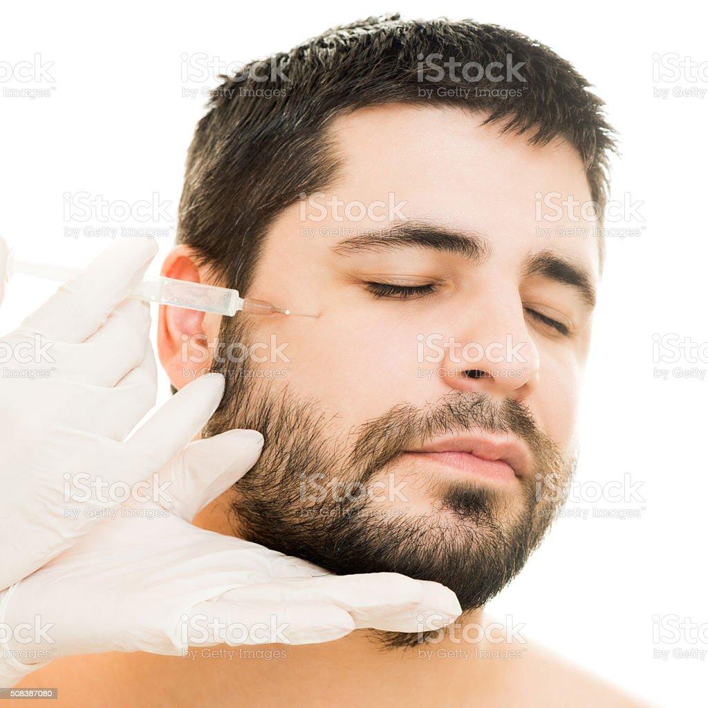 Injeção de Botox - foto de acervo