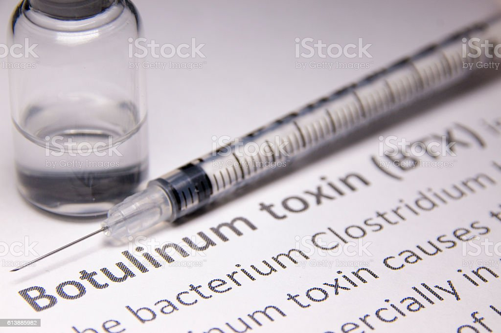 Botox Injection stock photo