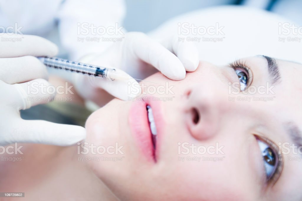 Botox Treatment stock photo