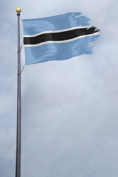Best Botswana Flag Stock Photos, Pictures & Royalty-Free Images - iStock