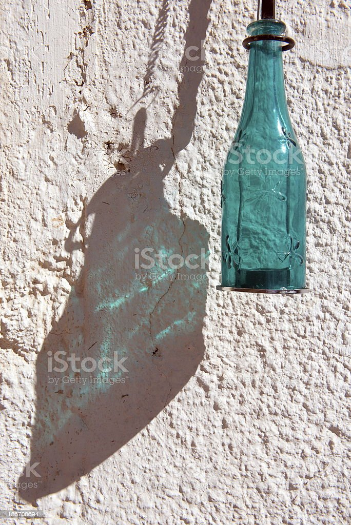 Bottle and Shadow royalty-free stock photo