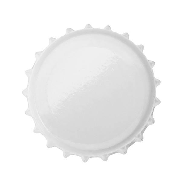 Bottle cap isolated on white background. without shadow Bottle cap isolated on white background. without shadow bottle cap stock pictures, royalty-free photos & images