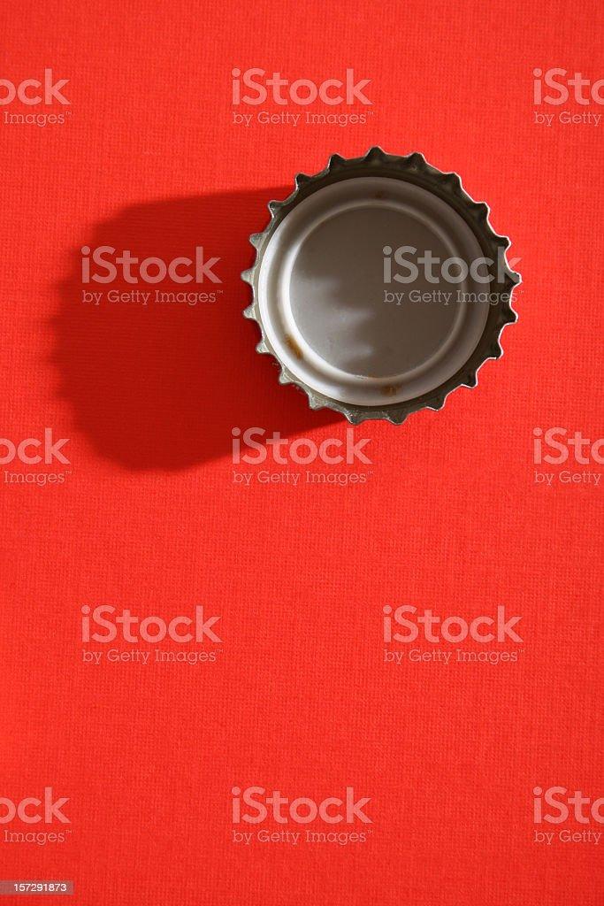 Chapa de botella - foto de stock