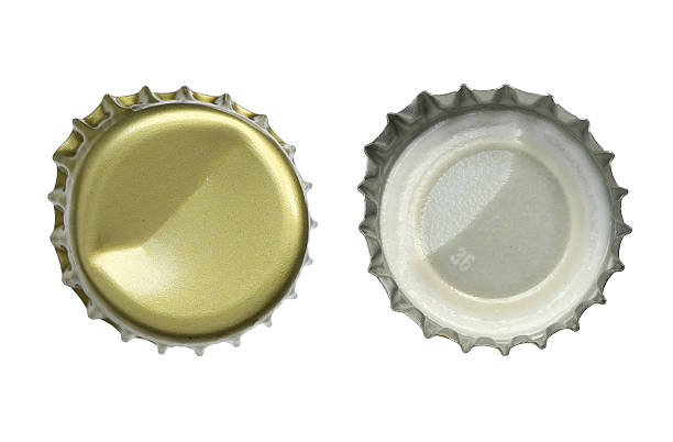 Bottle cap Metal bottle cap isolated on white background bottle cap stock pictures, royalty-free photos & images