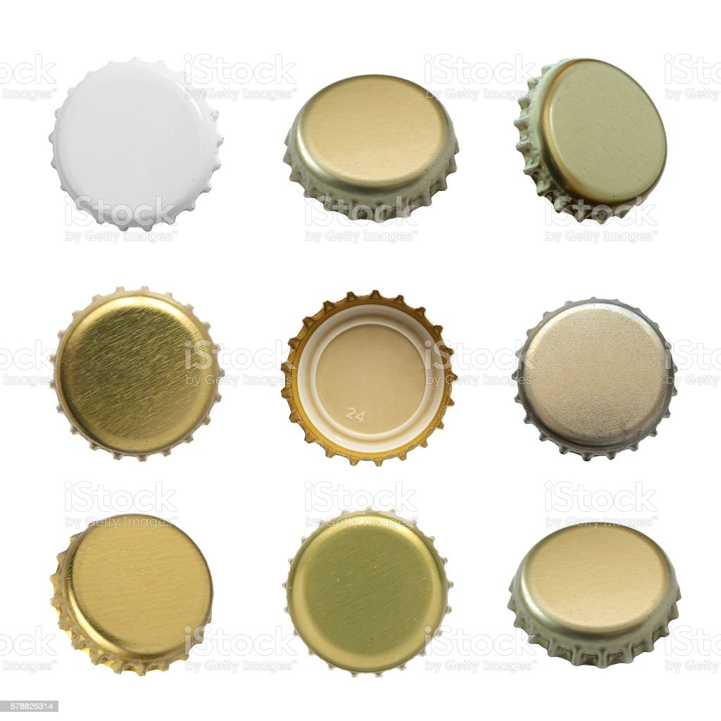 Bottle cap. stock photo