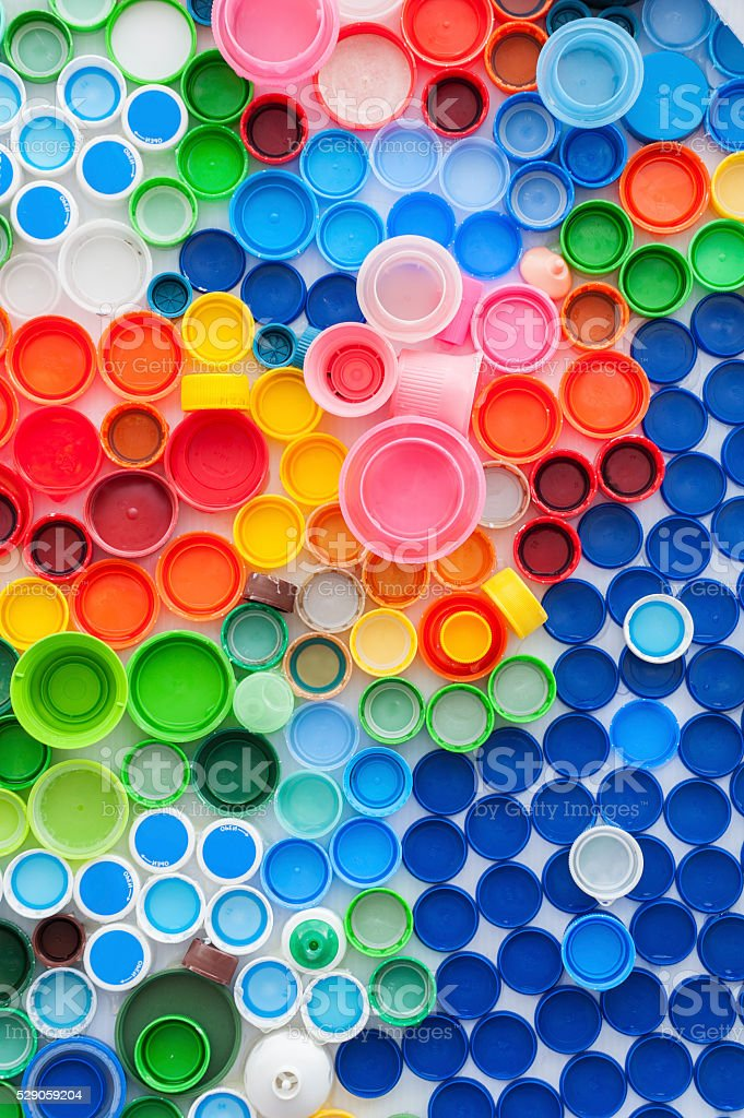 Bottle Caps stock photo