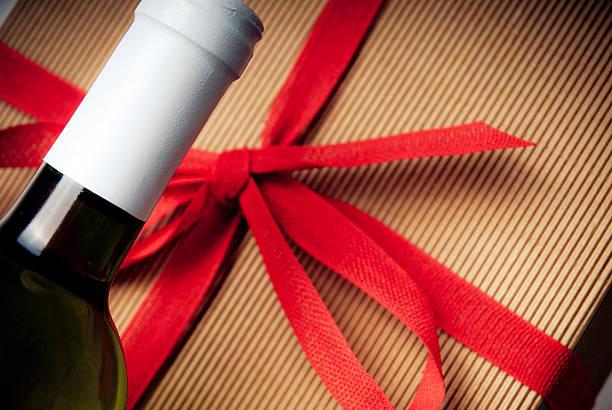 Bottle gift stock photo