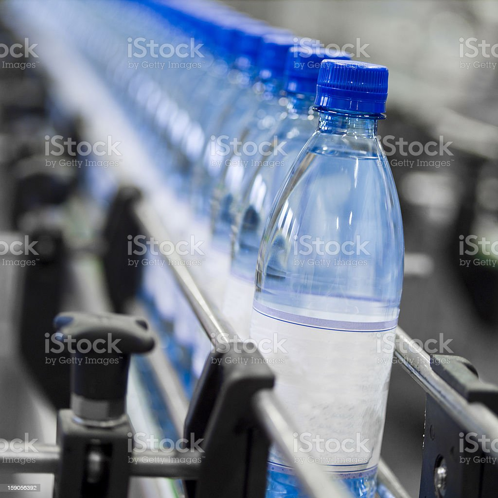 Bottle industry royalty-free stock photo