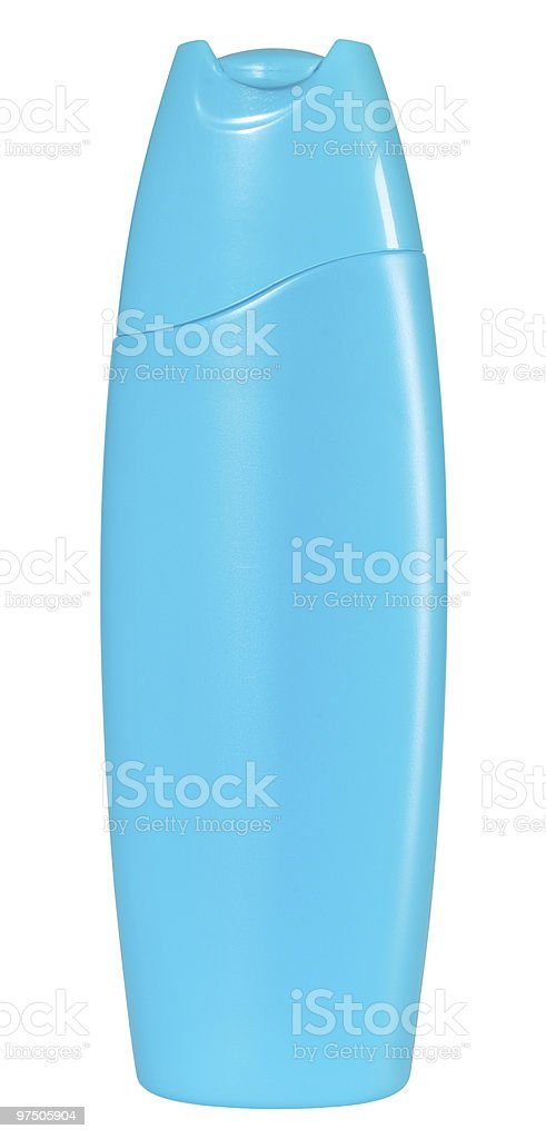 Bottle. Isolated. royalty-free stock photo