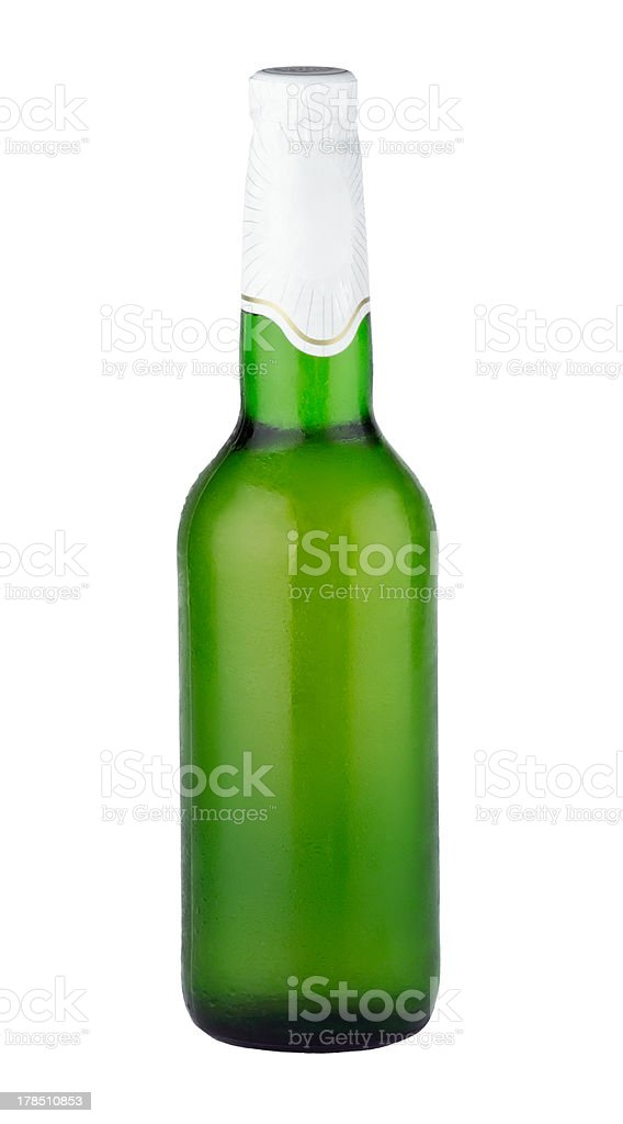 Bottle of beer royalty-free stock photo