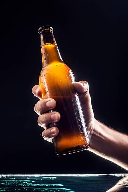 Bottle of beer stok fotoğrafı