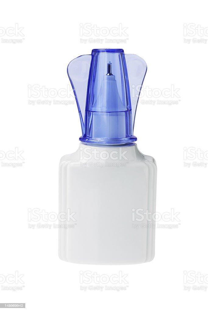 Bottle of Correcting Fluid stock photo