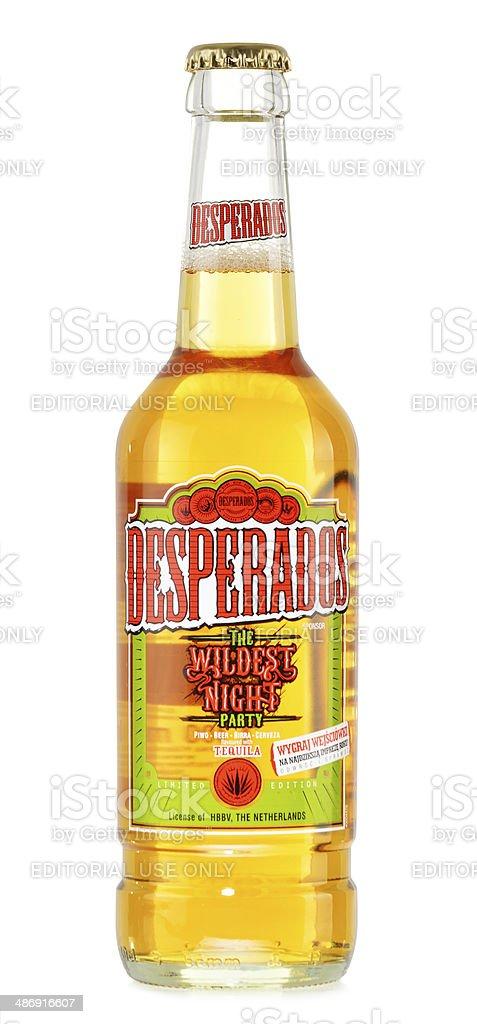 Flasche Desperados Bier Isoliert Auf Weiss Stockfoto Und Mehr Bilder Von Alkoholisches Getrank Istock