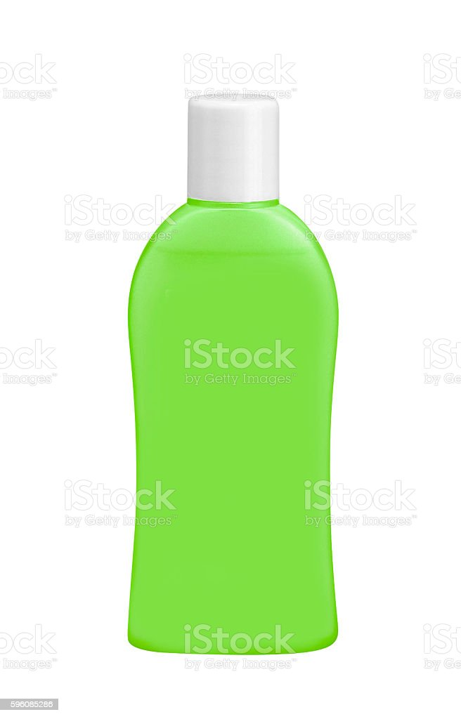 bottle of green post brush antiseptic mouthwash liquid royalty-free stock photo